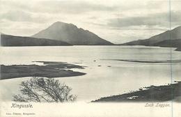 KINGUSSIE - LOCH LAGGAN ~ AN OLD POSTCARD #83343 - Inverness-shire