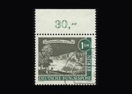 Berlin 1962, Michel-Nr. 229, Alt Berlin, 1,00 DM, Bogenrand Oben, Gestempelt - Gebraucht