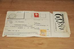47-     REKENING, TARVOMEELFABRIEK M.J. VOS - HAARLEM - 1959 - Nederland