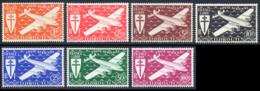 Cote Des Somalis PA 1943 Yvert 1 / 7 ** TB - Französich-Somaliküste (1894-1967)