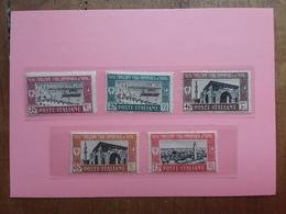 COLONIE ITALIANE - LIBIA - 1° Fiera Di Tripoli Nn. 66/70 Nuovi * (manca 1 Valore) + Spese Postali - Libia