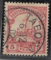 D.O.A.DEUTSCH OSTAFRIKA.1901.MICHEL N°13.OBLITERE.19D36 - Colonie: Afrique Orientale