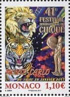 MONACO 2017 - Y. T. N° 3063 / FESTIVAL INTERNATIONAL DU CIRQUE   - NEUF ** - Monaco