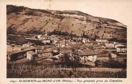 St Saint Romain Au Mont D'Or Canton Neuville Goutagny 1241 - France