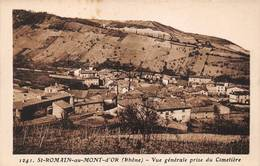 St Saint Romain Au Mont D'Or Canton Neuville Goutagny 1241 - Other Municipalities