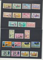 Zanzibar 1966 - 1967 Années  *** MNH ( Sauf 10c * MVLH) - Zanzibar (1963-1968)