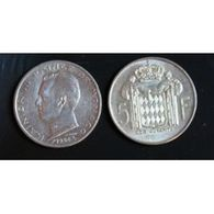 Pièce Monaco, 5 Francs, 1966 - Monaco