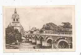 Cp ,10,  DIENVILLE ,le Pont Et L'église,voyagée 1939 , Voir Belle Oblitération Sur 2 éme Scan - Other Municipalities