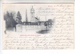 SP- 55 - ETAIN -  Entree De La Ville - Route De Verdun - Precurseur - Timbre - Cachet - 1900 - Etain