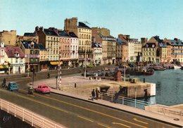 CHERBOURG - Le Pont Tournant Et Les Quais - Cherbourg