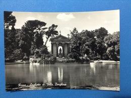 CARTOLINA ROMA LAGHETTO DI VILLA BORGHESE - Parks & Gardens