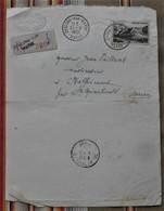 51 CHALONS SUR MARNE GREFFE  DU TRIBUNAL Pour MAFFRECOURT Timbre,tampons - 1950 - ...