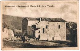B3303 - Caltanissetta,Mussomeli, Santuario Di S. S. Delle Vanelle Non Viaggiata - Caltanissetta
