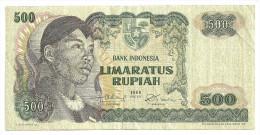 Indonesia 500 Rupiah 1968 - Indonésie
