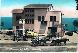 B3306 - Trapani,Castellammare Del Golfo,autostello, Primi Colori  Viaggiata 1962. - Trapani