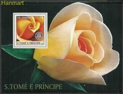 Sao Tome And Principe 2003 Mi Bl435 MNH ( ZS6 STPbl435 ) - Rosen
