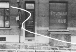 5. Septembre 1944 Charleroi Mise à Sac De La Maison De Joseph Pévenasse, Responsable De Rex. Repro - 1939-45