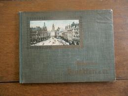 Oude Album Rond 1900 FRANKFURT  AM  MAIN - Frankfurt A. Main