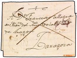 SPAIN: PREPHILATELIC MARKS  DP04 ARAGON - ...-1850 Prephilately
