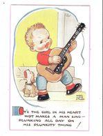 MABEL LUCIE ATTWELL ART DRAWN CARD No.5756 CHILDREN - Attwell, M. L.