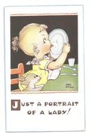 MABEL LUCIE ATTWELL ART DRAWN CARD No.5225 CHILDREN - Attwell, M. L.