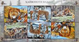 Tajikistan   2016  Fauna  Wild  Cats   M/S  Perfor. MNH - Tadjikistan