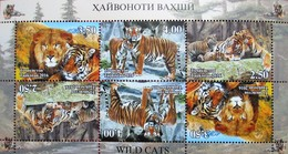 Tajikistan   2016  Fauna  Wild  Cats   M/S  Perfor. MNH - Tajikistan