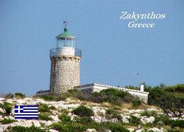 AK Leuchturm Greece Zakynthos Island Lighthouse New Postcard - Fari