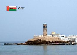 AK Leuchturm Oman Sur Lighthouse New Postcard - Vuurtorens