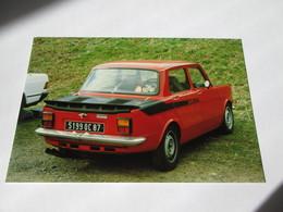 Photo   14x10   SIMCA 1000  RALLYE  2 - Automobiles