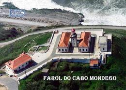 AK Leuchturm Portugal Figueira Da Foz Cape Mondego Lighthouse New Postcard - Fari