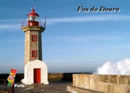 AK Leuchturm Portugal Porto Felgueiras Lighthouse New Postcard - Fari