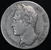 BELGIE 1838 LEOPOLD I IN HEEL  MOOIE STAAT  - POS  A -  ZIE 6 AFBEELDINGEN - 11. 5 Francs