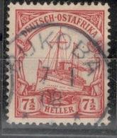 D.O.A.DEUTSCH OSTAFRIKA.1905.MICHEL N°24.OBLITERE.19D41 - Colonie: Afrique Orientale