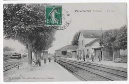 08 - POIX-TERRON - La Gare      BA - France