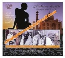 Gandhi Nevis Stamps Mnh Set - Mahatma Gandhi