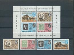 RHODESIA, 1966 Rhopex 4v + S/s  MNH - Zimbabwe (1980-...)