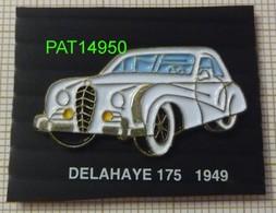 DELAHAYE 175  De 1949 - Pin's