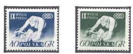Pologne - YT N° 855 Et 856 - Neuf Avec Charnière - Thématique Sport - 1956 - 1944-.... Republik