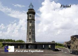 AK Azoren Leuchturm Azores Faial Island Capelinhos Lighthouse New Postcard - Fari