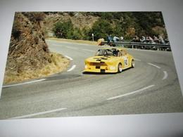 Photo   15x10   SIMCA  1200 S   COURSE DE COTE    COL St  PIERRE  1995 - Automobiles