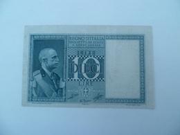 Italie : Magnifique Billet De 10 Lires 1939 à Voir ! - Italia – 10 Lire