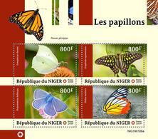 Niger. 2019 Butterflies. (0106a)  OFFICIAL ISSUE - Papillons