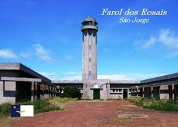 AK Azoren Leuchturm Azores Sao Jorge Island  Rosais Lighthouse New Postcard - Vuurtorens