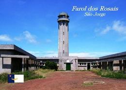 AK Azoren Leuchturm Azores Sao Jorge Island  Rosais Lighthouse New Postcard - Leuchttürme