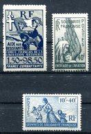 Comité Français De Libération Nationale - Neuf Xxx Yvert 65a 66 & PA 1  - T 856 - Francia (antiguas Colonias Y Protectorados)