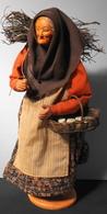 SUPERBE Et ANCIEN SANTON PROVENCAL Signé : Simone JOUGLAS - Superbe ! Haut : 30cm - Parf. Etat - Popular Art