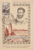 France Journée Du Timbre 1946 Le Havre Avec Vignette - 1921-1960: Periodo Moderno
