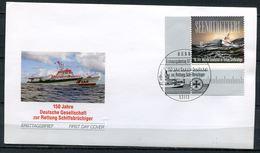 """Germany 2015 First Day Cover Mi.Nr.3153 Ersttagsbriefe""""150 Jahre Gesellschaft Zur Rettung Schiffsbrüchiger """" 1 FDC - [7] República Federal"""