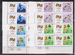 PAKISTAN:  1996  GIOCHI  OLIMPICI  -  S. CPL. 4  VAL. BL. 4  N. - Pakistan